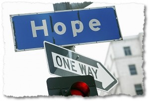 There IS no one way to picture hope.