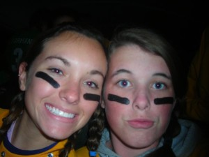 Dear Teen Me: (on the right): Duck lips were never a good idea. They will haunt you in the future. (but Kelsey will be your bff by your side forever, duck lips or not)